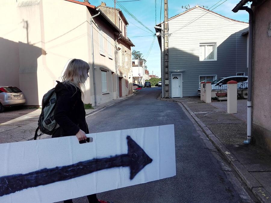 Arrow to Cantepau