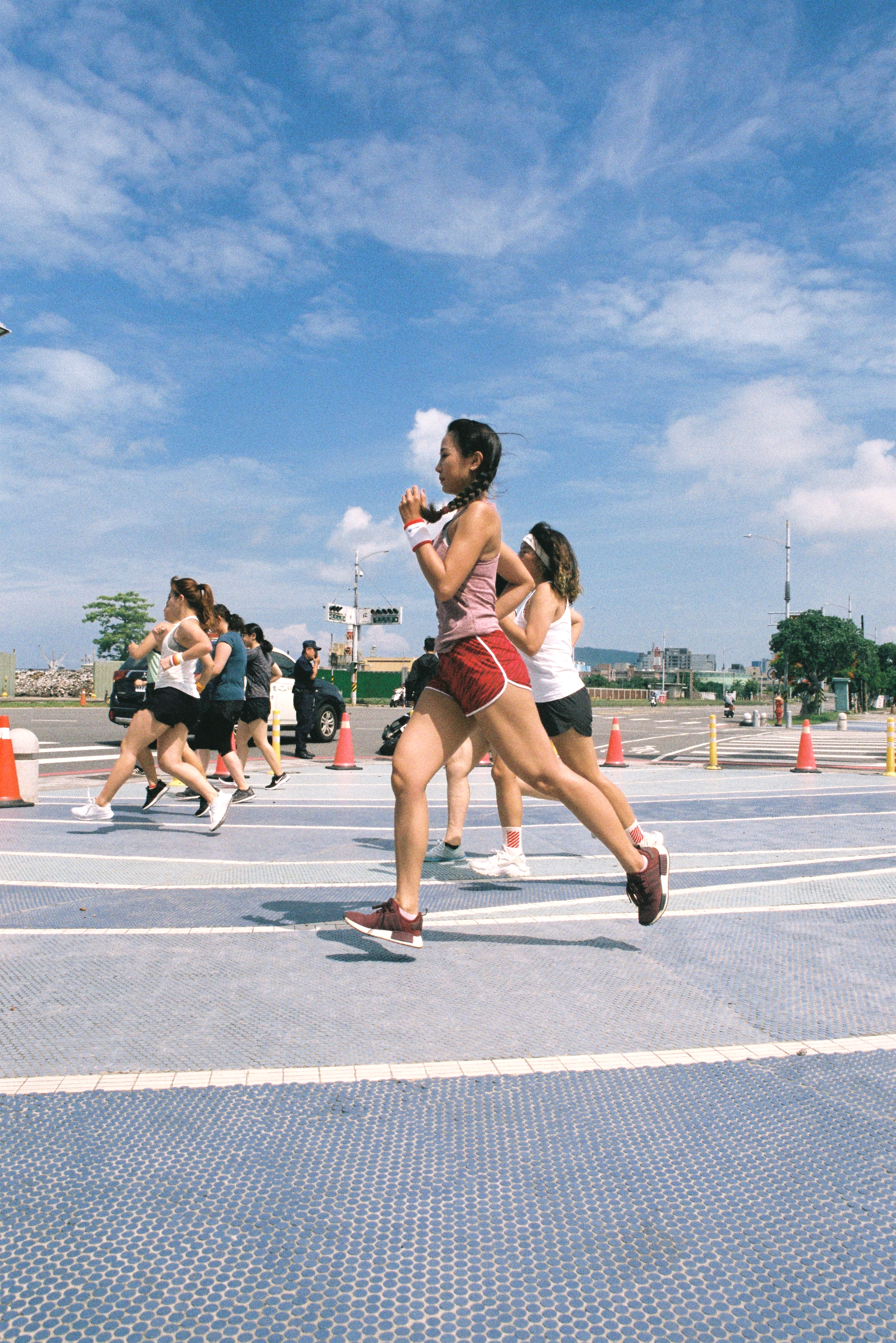 Shortest Run in Asia